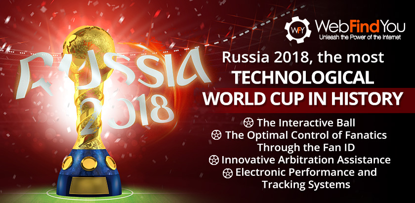 Russia 2018, the most Technological World Cup in History