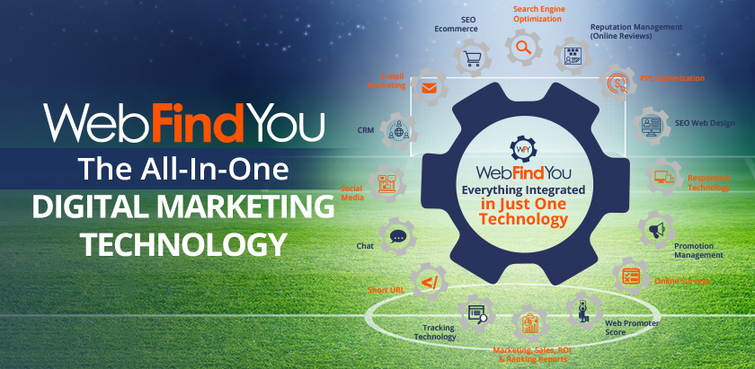 WebFindYou the All-In-One Digital Marketing Technology