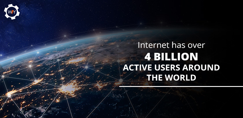 Internet has Over 4 Billion Active Users Around the World