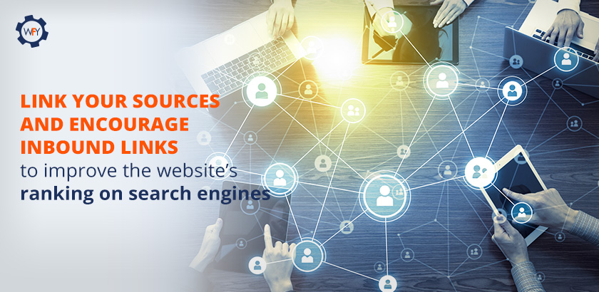 Link Your Sources and Encourage Inbound Links