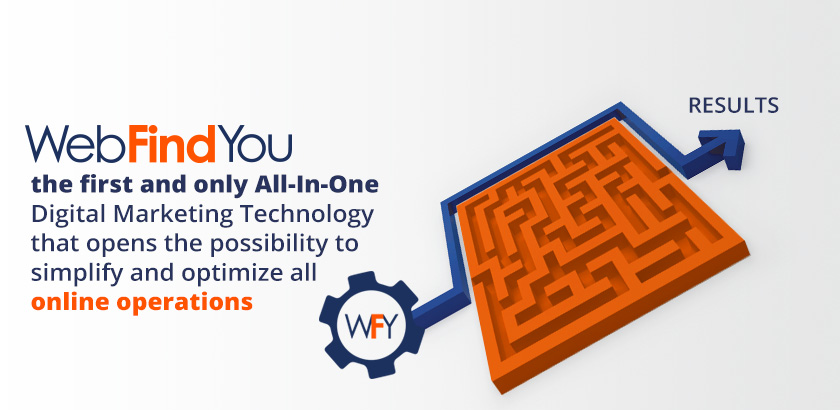 WebFindYou Simplifies and Optimizes all Online Operations