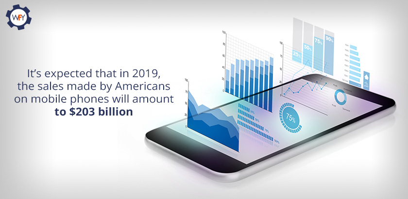 It's Expected That in 2019, the Sales Made by Americans on Mobile Phones Will Be $203billion