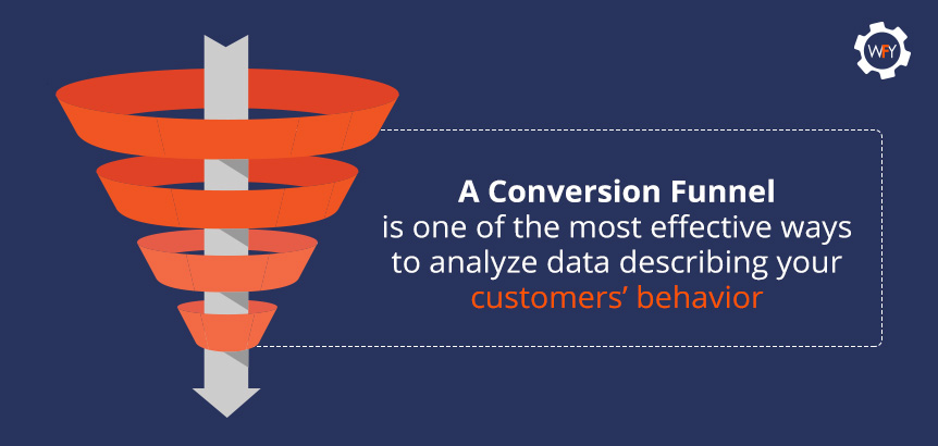 A Conversion Funnel Is One of the Most Effective Ways to Analyze Data on your Customers' Behavior