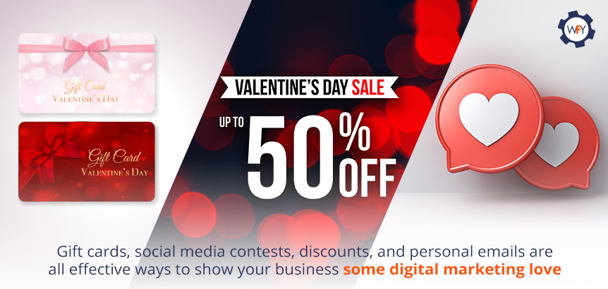 Show Your Business Some Digital Marketing Love through Discounts, Contests and Special Offers