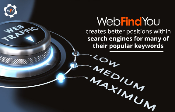 WebFindYou Creates Better Positions Within Search Engines for Their Keywords